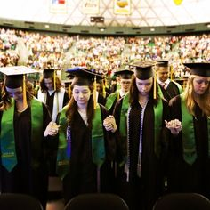 Congratulations to a very large Baylor graduation class! We pray for much success in your future!