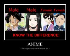 While appearances in anime can certainly be deceiving, the examples given are terrible examples....