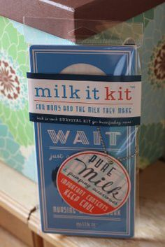 Amazon.com: Milk It Kit - Back to Work Survival Kit for Breastfeeding Pumping Moms (includes privacy door hanger)