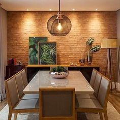 [New] The 10 Best Home Decor Today (with Pictures) Home Room Design, Dining Room Design, Home Interior Design, House Design, Dinner Room, Light In, Dining Room Walls, Küchen Design, Home Living Room