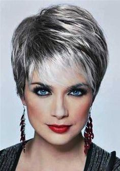 Surprising Diy Ideas: Shaggy Pixie Hairstyles women hairstyles over 50 products.Viking Women Hairstyles Short women hairstyles over 50 medium lengths. Over 60 Hairstyles, Pixie Hairstyles, Short Hairstyles For Women, Cool Hairstyles, Woman Hairstyles, Hairstyle Ideas, Layered Hairstyles, Brunette Hairstyles, Fringe Hairstyles