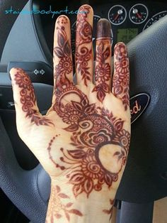 Stained's photo. Palm Henna Designs, Mehandi Designs Images, Indian Henna Designs, Stylish Mehndi Designs, Mehndi Design Pictures, Henna Designs Easy, Beautiful Mehndi Design, Latest Mehndi Designs, Mehndi Images