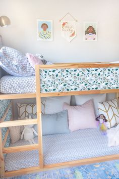 Boy And Girl Shared Bedroom, Shared Rooms, Little Girl Rooms, Ikea Girls Bedroom, Childs Bedroom, Kid Bedrooms, Boy Rooms, Kids Rooms, Ikea Nursery