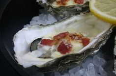 Roasted Oysters with Bacon and Parmigiano-Reggiano | This roasted oysters recipe is the perfect elegant appetizer for the holiday season.