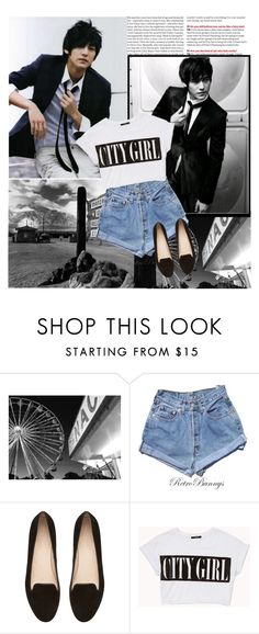 """""""Kim Bum (I think)"""" by awesomeumbridge ❤ liked on Polyvore featuring Levi's, Witchery and Forever 21"""