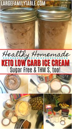 easy homemade ice cream If you're a momma looking for low carb, Keto, and Trim Healthy Mama treats you'll love thisHomemade Keto Ice Cream. I love to add peanut butter powder and Desserts Keto, Frozen Desserts, Frozen Treats, Dessert Recipes, Delicious Desserts, Snack Recipes, Dinner Recipes, Low Carb Ice Cream, Healthy Ice Cream
