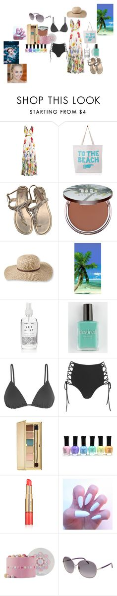 """""""my summer style"""" by starshine13-1 ❤ liked on Polyvore featuring Joelle, ALPHABET BAGS, Lilly Pulitzer, Urban Decay, L.L.Bean, Destined, Eres, Mara Hoffman, Estée Lauder and Guerlain"""