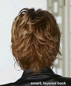Resultado de imagem para Lisa Rinna Short Hairstyles Back View Stacked Bob
