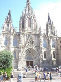 gotische Kirche in Barcelona