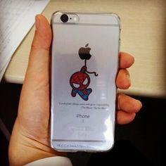 어제 아이폰 케이스를 OHP 필름으로 만들었다. 역시 심플한 거이 좋으다~^^ #OHP #iPhone 6s case