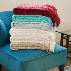 Add A Splash Of Color To Your Living Space With This Elegant Throw