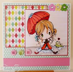 Lolita with Froggy by Star for Spesch Designer Stamps. Tracey Feeger: Spesch stamps