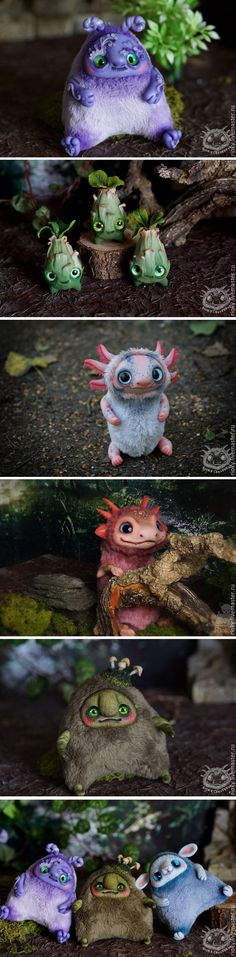 Cute toys by Rioky Creatures
