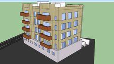 Edificio en 3D