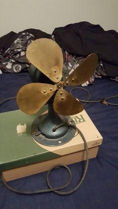 Century Brass fan pre restore
