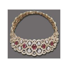 A SPECTACULAR RUBY AND DIAMOND NECKLACE, BY VAN CLEEF ARPELS - Van Cleef & Arpels