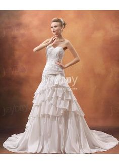 Sweetheart A Line Taffeta Embroidery Layers 2013 Dress for Wedding Party