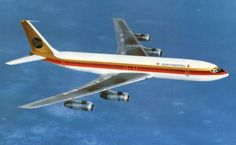 Boeing 707 of Continental Airlines
