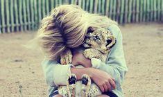 baby cheetah! soo stinkin' cute