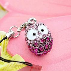 Buy 'Miss Girl – Rhinestone Owl Mobile Strap' at YesStyle.com plus more China items and get Free International Shipping on qualifying orders.