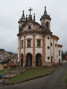 Igreja N. S. do Rosário - Ouro Preto/MG.