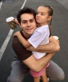 Dylan loves kids