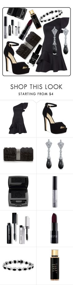 """""""Untitled #199"""" by kaira54321 ❤ liked on Polyvore featuring Jessica Simpson, Adrianna Papell, Bling Jewelry, Lancôme, NYX, Bobbi Brown Cosmetics, Victoria's Secret and Azature"""