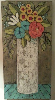 Acrylic on wood ...2'x4'