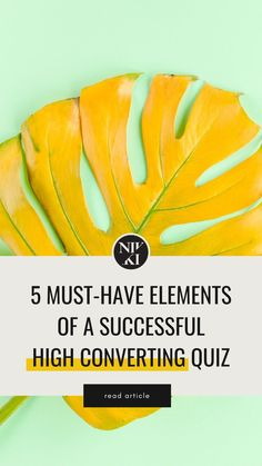 Want to fill your funnel with ideal leads? Ensure you include these must-have elements in your quiz!