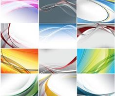 Stylish Backgrounds vector material