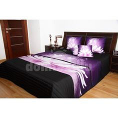Přehozy s barevným potiskem Hotel Bed, Bedding Sets, Luxury, Furniture, 3d, Home Decor, Crochet, Beautiful, Twin Size Beds