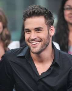 Pin for Later: 15 Times Ryan Guzman's Flirty Smile Made You Giggle Like a School Girl The Candid Smile