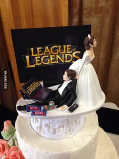 The Wedding Topper of Brothers Cake