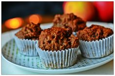 Gluten Dairy and Refined Sugar Free Vegan Chocolate Banana Muffins www.facebook.com/YouAnew