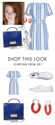 """Untitled #4"" by leah-glick ❤ liked on Polyvore featuring A.P.C., ANNIE, Vans, Handle, Bling Jewelry, Journee Collection, dress, BoldStripes and SummerInWinter"