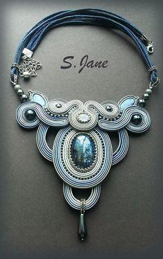 Greek necklace por JaneSumina en Etsy