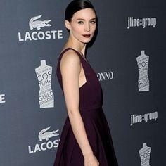 Side view Rooney Mara in J. Mendel | 2012 Costume Designers Guild Awards