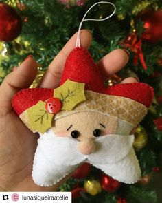 1 million+ Stunning Free Images to Use Anywhere Christmas Booth, Easy Christmas Ornaments, Felt Christmas Decorations, Simple Christmas, Christmas Time, Christmas Projects, Felt Crafts, Holiday Crafts, Felt Ornaments Patterns