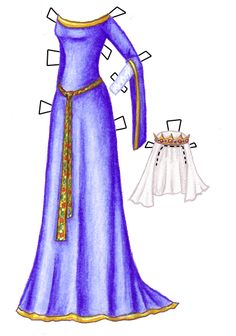 halloween-costume-ten-queen-guineveres-gold-edged-heavenly-blue-kirtle-with-flowered-girdle-and-crown-tabbed.png (425×606)