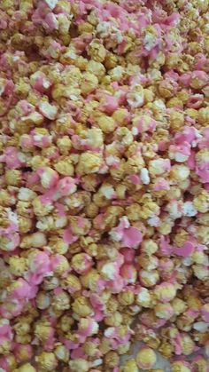 Making Strawberry Daiquiri Popcorn  so yum!   Want to know how? email  gail@ontrendmarketing.co.za www.ontrendmarketing.net for recipes packaging marketing materials