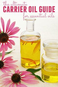 """If you're new to essential oils, you may wonder what """"carrier oil"""" means. We'll talk about what carrier oils are, how to use them and the best ones."""