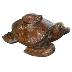 Stacking Turtles Figurine