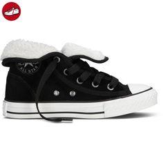 Converse Chuck Taylor All Star Super Winter, Unisex-Kinder Sneaker, Schwarz - Schwarz - schwarz - Größe: 31.5 eu (*Partner-Link)