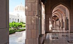 Grande Mosquée du Sultan Qaboos à Mascate (Oman)