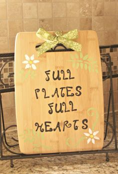 Last Minute Gift DIY Cutting Board Personalized To Match Recipients Kitchen With Target