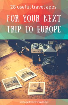 28 useful travel apps to use in Europe. A list of travel apps that include: planning, navigation apps, finding hotels, local transport, useful apps. Travel apps for European trips. Travel apps that work offline. Best international travel apps that work offline too! #europe #travel #apps #bestapp