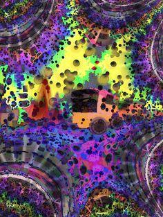 """""""Camión de otro mundo"""" Ver más en: www.librecreacion.net www.sirenasinmar.blogspot.com www.facebook.com/SugarherArts Blog Fotografia, Mona Lisa, Facebook, Art, World, Photos, Art Background, Kunst, Performing Arts"""