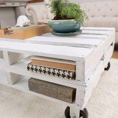 DIY Pallet Coffee Table | POPSUGAR Home