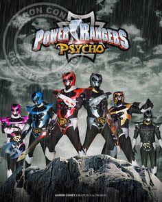 Psycho Rangers Print