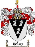 $8.99 Pay for Halsey Family Crest / Halsey Coat of Arms